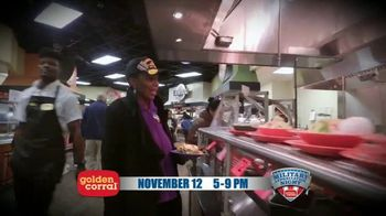 Golden Corral TV Spot, '2018 Military Appreciation Night' Featuring Gary Sinise - Thumbnail 5