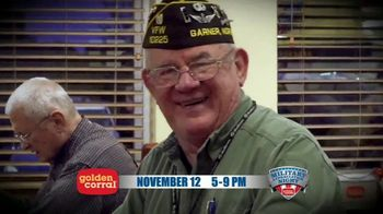 Golden Corral TV Spot, '2018 Military Appreciation Night' Featuring Gary Sinise - Thumbnail 8
