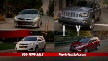 Peoria Sports Complex Pre-Black Friday Tent Event TV Spot, '2,000 Vehicles' - Thumbnail 1
