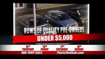 Peoria Sports Complex Pre-Black Friday Tent Event TV Spot, '2,000 Vehicles' - Thumbnail 5