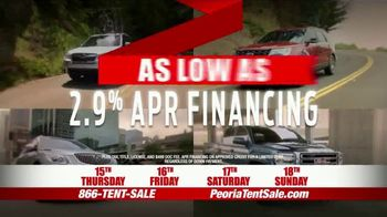 Peoria Sports Complex Pre-Black Friday Tent Event TV Spot, '2,000 Vehicles' - Thumbnail 6
