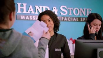 Hand and Stone Black Friday Weekend Event TV Spot, 'BOGO Holiday Gift Cards' Featuring Carli Lloyd - Thumbnail 4