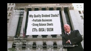 O'Shares Investments TV Spot, 'Quality Dividend ETFs' - 11 commercial airings