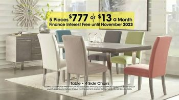 Rooms to Go Holiday Sale TV Spot, '5-Piece Dining Sets' - Thumbnail 4