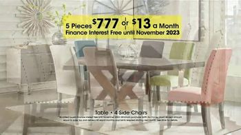 Rooms to Go Holiday Sale TV Spot, '5-Piece Dining Sets' - Thumbnail 5