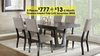 Rooms to Go Holiday Sale TV Spot, '5-Piece Dining Sets' - Thumbnail 6