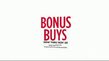 Belk Pre-Thanksgiving Sale TV Spot, 'Bonus Buys' - Thumbnail 2