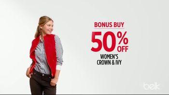 Belk Pre-Thanksgiving Sale TV Spot, 'Bonus Buys' - Thumbnail 3