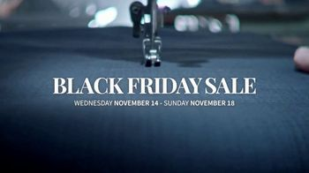 JoS. A. Bank Black Friday Sale TV Spot, 'Save Up to 70 Percent'