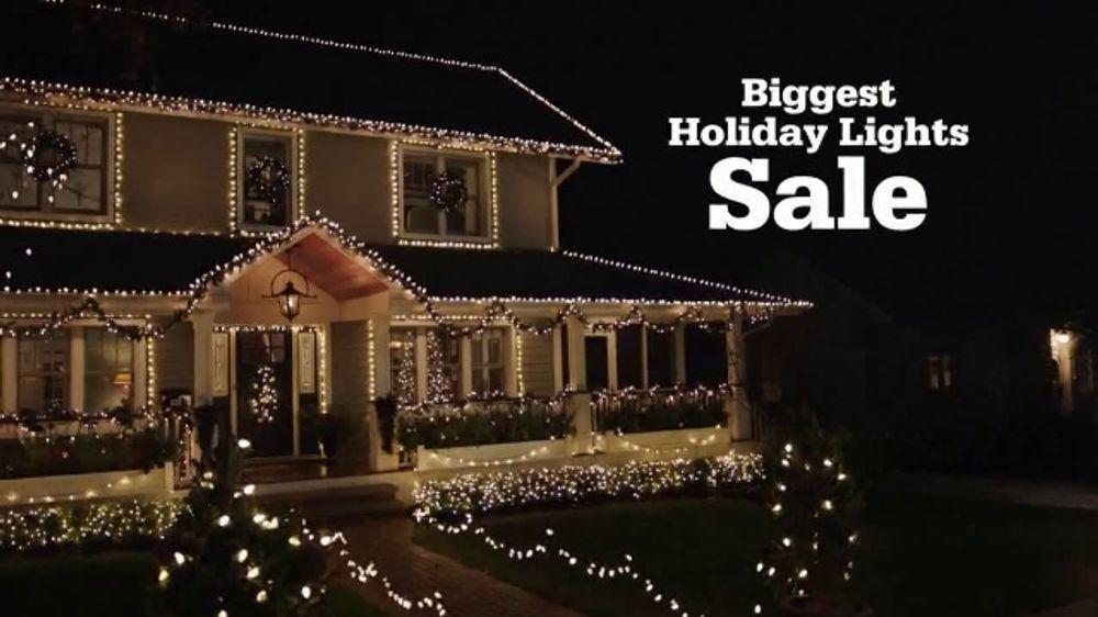Ace Hardware Biggest Holiday Lights Sale Tv Commercial