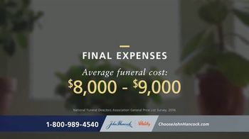 John Hancock Final Expense Life Insurance TV Spot, 'No More Questions'