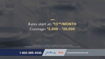 John Hancock Final Expense Life Insurance TV Spot, 'No More Questions' - Thumbnail 5