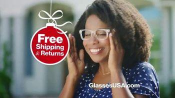 GlassesUSA.com TV Spot, 'Black Friday Sale On Glasses'
