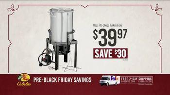 Bass Pro Shops Kickoff Sale TV Spot, 'Turkey Fryer and Dehydrator' - Thumbnail 7