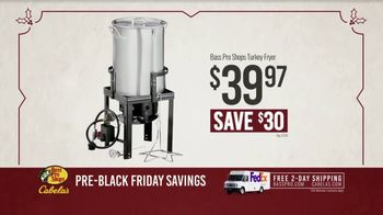 Bass Pro Shops Kickoff Sale TV Spot, 'Turkey Fryer and Dehydrator' - Thumbnail 8