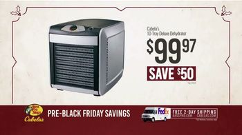 Bass Pro Shops Kickoff Sale TV Spot, 'Turkey Fryer and Dehydrator' - Thumbnail 9