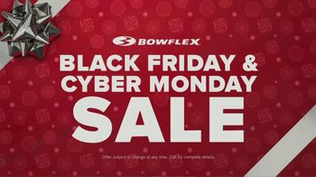 Bowflex Black Friday and Cyber Monday Sale TV Spot, 'Find Your Fit' - Thumbnail 4