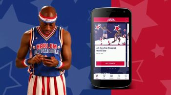 Harlem Globetrotters Mobile App TV Spot, 'Get in the Game' - 3 commercial airings