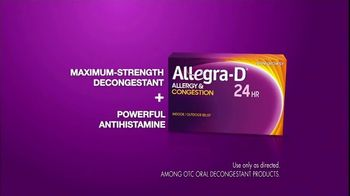 Allegra-D Allergy & Congestion TV Spot, 'The Answer to Winter Allergies' - Thumbnail 4