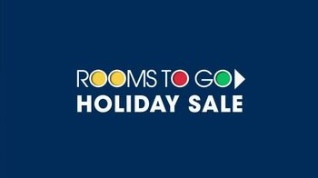 Rooms to Go Holiday Sale TV Spot, 'Great-Looking Five-Piece Bedroom' - Thumbnail 1