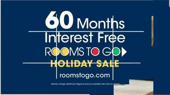 Rooms to Go Holiday Sale TV Spot, 'Great-Looking Five-Piece Bedroom' - Thumbnail 6