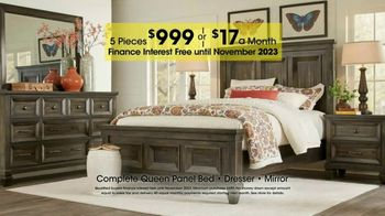 Rooms to Go Holiday Sale TV Spot, 'Great-Looking Five-Piece Bedroom' - Thumbnail 5