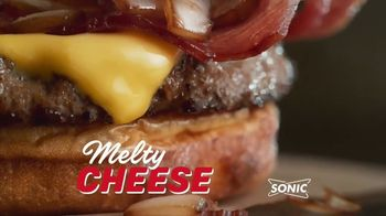 Sonic Drive-In Steakhouse Bacon Cheeseburger TV Spot, 'No Reservations' - Thumbnail 4