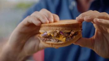 Checkers & Rally's Sourdough Steak Melt TV Spot, 'That's a Ton of Food' - Thumbnail 6