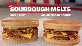 Checkers & Rally's Sourdough Steak Melt TV Spot, 'That's a Ton of Food' - Thumbnail 8