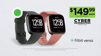 Kohl's Cyber Doorbusters TV Spot, 'Fitbits, Kitchen Electrics and Towels' - Thumbnail 4