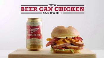 Arby's Beer Can Chicken Sandwich TV Spot, 'Don't Worry' - Thumbnail 4