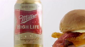Arby's Beer Can Chicken Sandwich TV Spot, 'Miller Beer' - Thumbnail 4