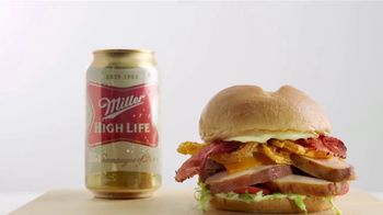 Arby's Beer Can Chicken Sandwich TV Spot, 'Miller Beer' - Thumbnail 7