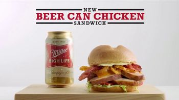 Arby's Beer Can Chicken Sandwich TV Spot, 'Miller Beer' - Thumbnail 9