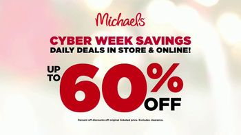 Michaels Cyber Week Savings TV Spot, 'A Click Away' Song by Charles Wright & The Watts - Thumbnail 9