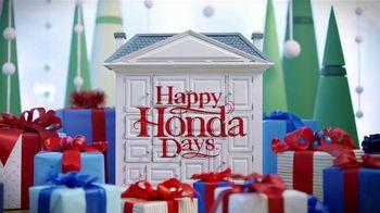 Happy Honda Days TV Spot, '2018 Holidays: Teenage Mutant Ninja Turtles' [T2] - Thumbnail 1