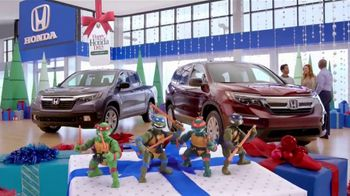 Happy Honda Days TV Spot, '2018 Holidays: Teenage Mutant Ninja Turtles' [T2] - Thumbnail 2