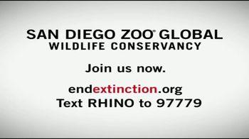 San Diego Zoo Global Wildlife Conservancy TV Spot, 'Five Left' - Thumbnail 5