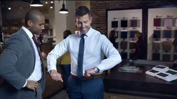 Men's Wearhouse TV Spot, 'La costumbre es la comodidad' con Jesse Palmer [Spanish] - Thumbnail 4