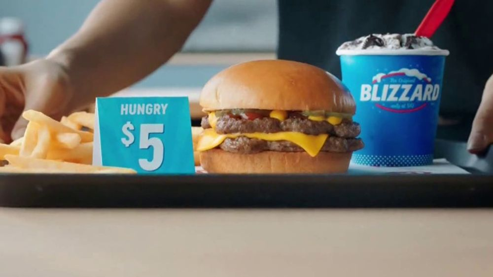 Dairy Queen Hungry Up Deal Tv Commercial Burger Fries And Mini Blizzard Ispot Tv