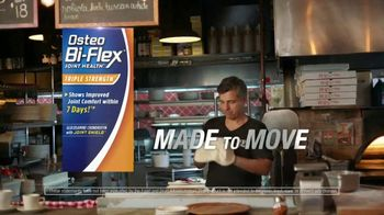 Osteo Bi-Flex TV Spot, 'Made to Move: Pizza' - 1786 commercial airings