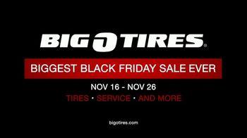 Big O Tires Biggest Black Friday Sale Ever TV Spot, 'Buy Three Get One Free' - Thumbnail 10