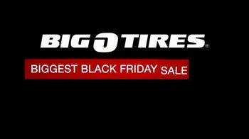 Big O Tires Biggest Black Friday Sale Ever TV Spot, 'Buy Three Get One Free' - Thumbnail 2