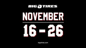 Big O Tires Biggest Black Friday Sale Ever TV Spot, 'Buy Three Get One Free' - Thumbnail 4