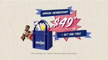 Meijer TV Spot, 'Holidays: Free Annual Membership' - Thumbnail 6