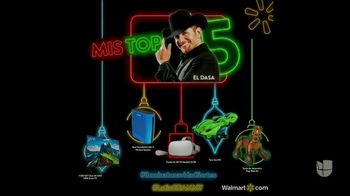 Walmart TV Spot, 'Univision: la lista de regalos de El Dasa' [Spanish] - 2 commercial airings