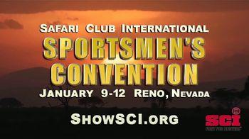 Safari Club International TV Spot, '2019 SCI Sportsmen's Convention'