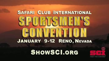Safari Club International TV Spot, '2019 SCI Sportsmen's Convention' - 11 commercial airings