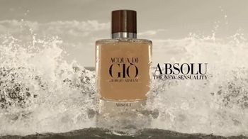 Giorgio Armani Acqua Di Giò Absolu TV Spot, 'Sensuality' Song by Night Shapers - Thumbnail 9