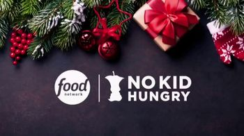 No Kid Hungry TV Spot, 'Holidays: One in Six' Featuring Bobby Flay, Guy Fieri and Alton Brown - Thumbnail 1
